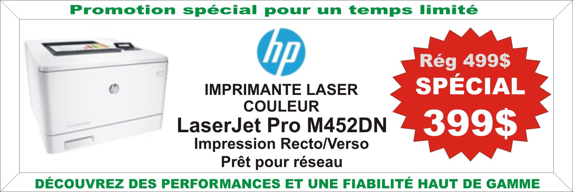 Promotion Imprimante HP M452DN