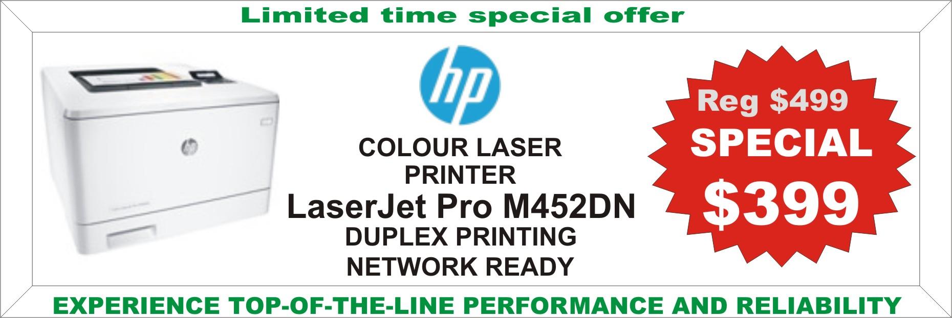 HP LaserJet Pro M450DN Promo