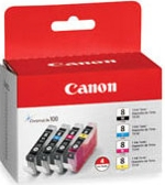 0620B036 Canon CLI-8 Value Pack Cyan Magenta Yellow Black Ink Tanks