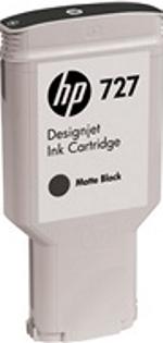 C1Q12A HP 727 300-ml Matte Black Designjet Ink Cartridge