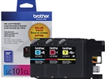 LC1013PKS Brother 3 pack Color Ink Cartridge