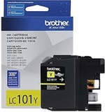 LC101YS Brother Yellow Ink Cartridge