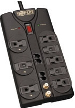 TLP810NET Tripp Lite Protect It! 8-Outlet Surge Protector