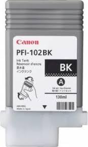 0895B001 Canon PFI-102BK Dye Black Ink Tank