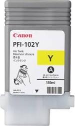 0898B001 Canon PFI-102Y Dye Yellow Ink Tank