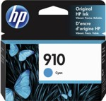 3YL58AN#140 HP 910 Cyan Original Ink Cartridge
