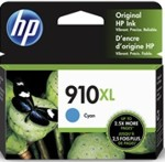 3YL62AN#140 HP 910XL High Yield Cyan Original Ink Cartridge