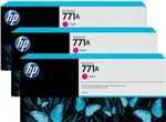 B6Y41A HP 771A 3-pack 775-ml Magenta Designjet Ink Cartridges