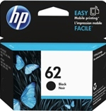 C2P04AN#140 HP 62 Black Ink Cartridge