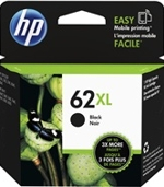 C2P05AN#140 HP 62XL High Yield Black Ink Cartridge