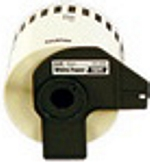 DK2211 Brother 29mm Black on White Tape for P-Touch