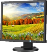 EA193MI-BK NEC MultiSync 19 inch LED Backlit LCD Monitor Integrated Speakers