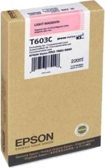 T603C00 Epson Light Magenta UltraChrome K3 Ink Cartridge